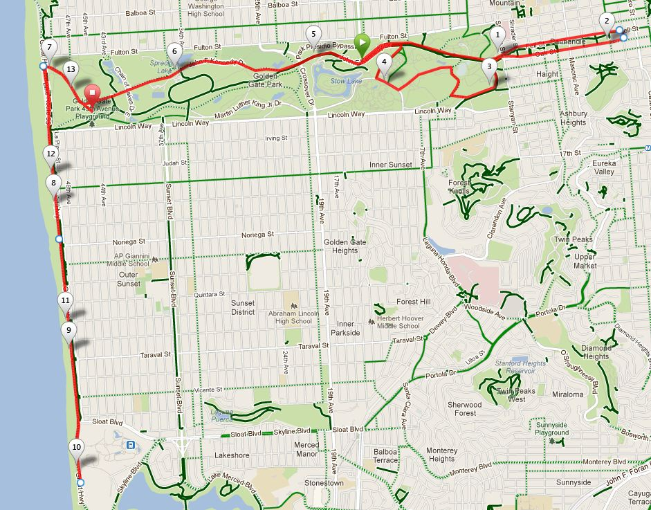 2013 Kaiser Permanente San Francisco Half Marathon Race Report