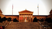 The Rocky Steps... (totally forgot to walk up there or snap a picture of the Rocky Statue. I'm a terrible tourist!)