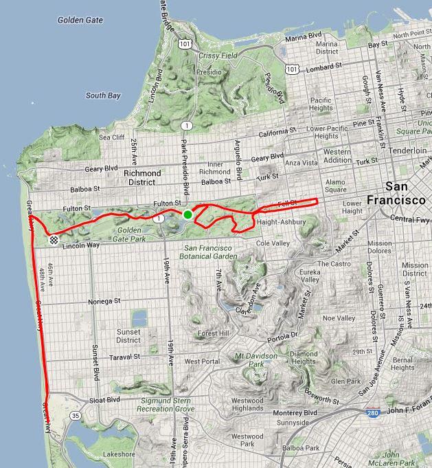 2014 Kaiser Permanente San Francisco Half Marathon Race Report