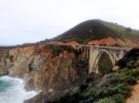 Approaching Bixby Bridge!